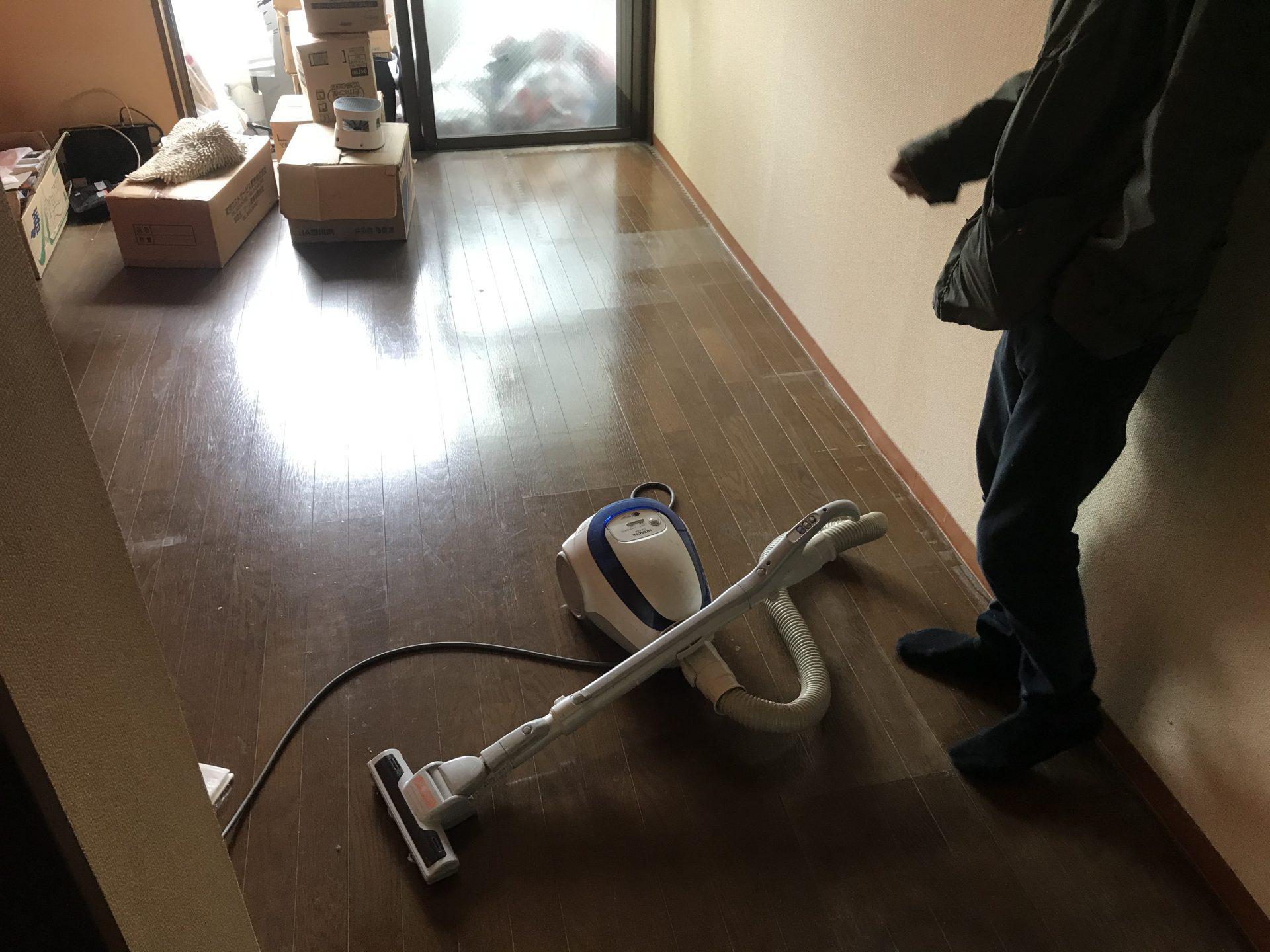 現場レポート・アフター新宿区引越し時の不用品回収頼2