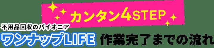 昭島市の不用品回収ワンナップLIFE産業完了までの4ステップ