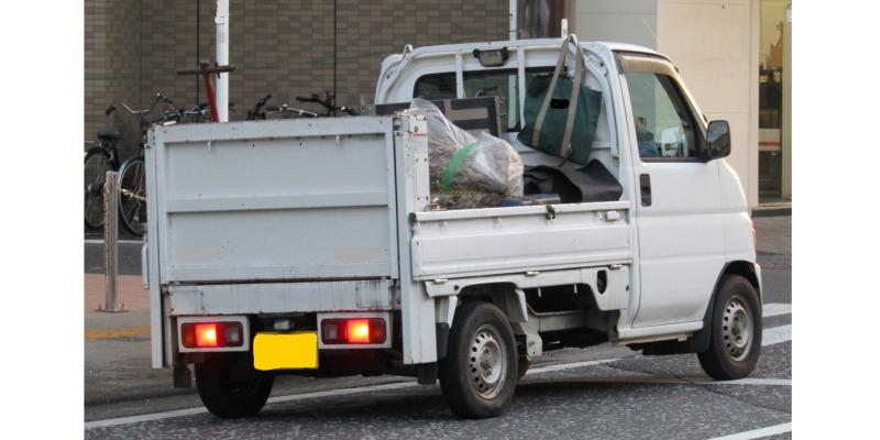 軽トラック積み放題はどのくらい載せられる?