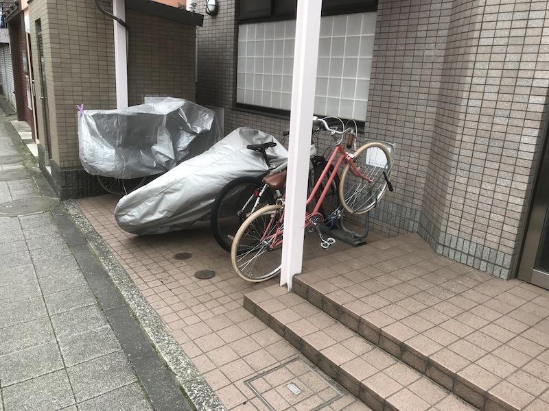 現場レポート世田谷区引越し時の不用品回収自転車