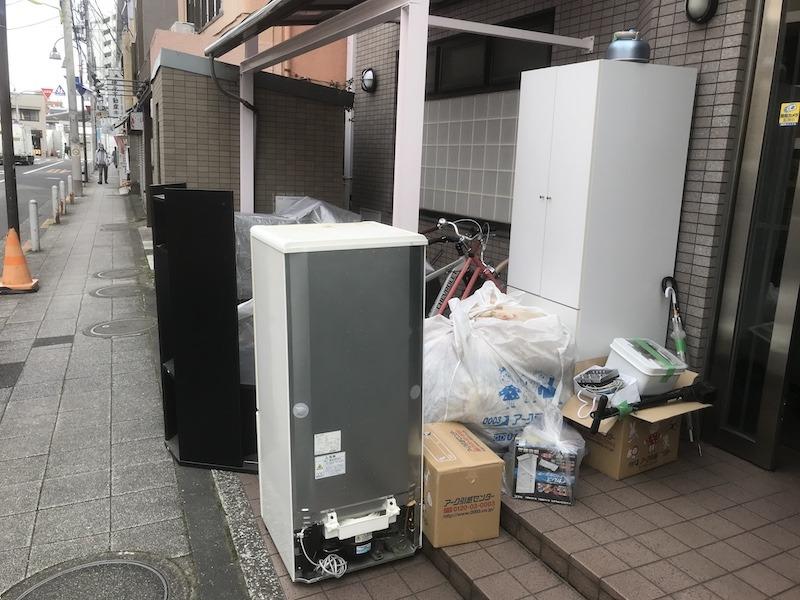 現場レポート世田谷区引越し時の不用品回収家財道具