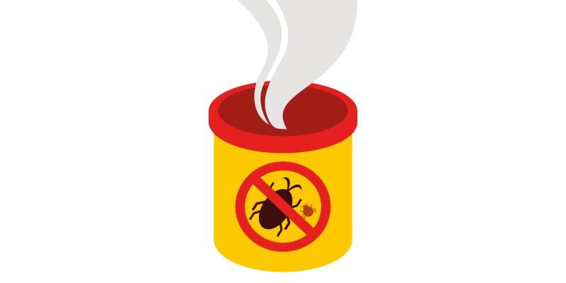 殺虫剤を使用し害虫を駆除