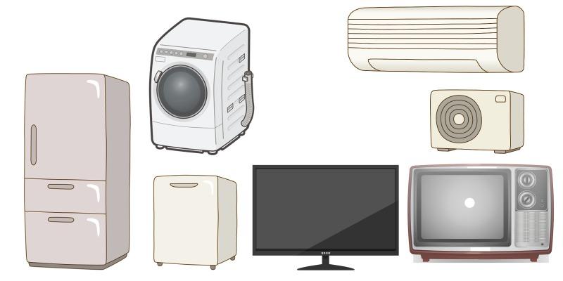国分寺市での家電の処分方法