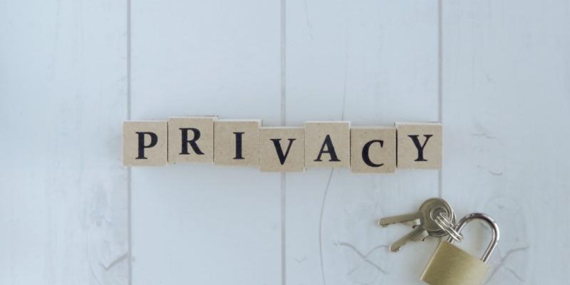 プライバシーの配慮