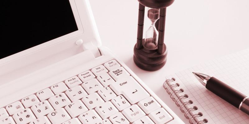 ポイント2:作業の効率を確認