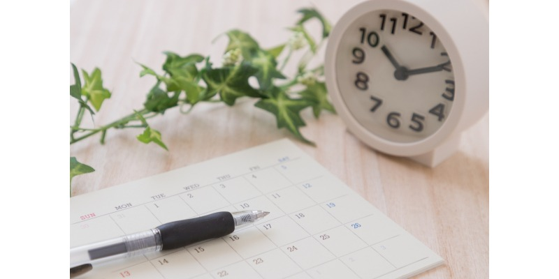 その6|日付や時間の融通がきくか