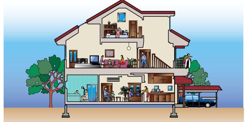 住宅の間取りによる料金の相場